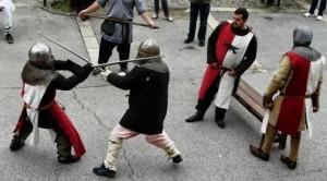 Combat médiéval pour adultes