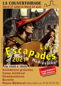 Read more about the article La Couvertoirade, le 24 août 2021